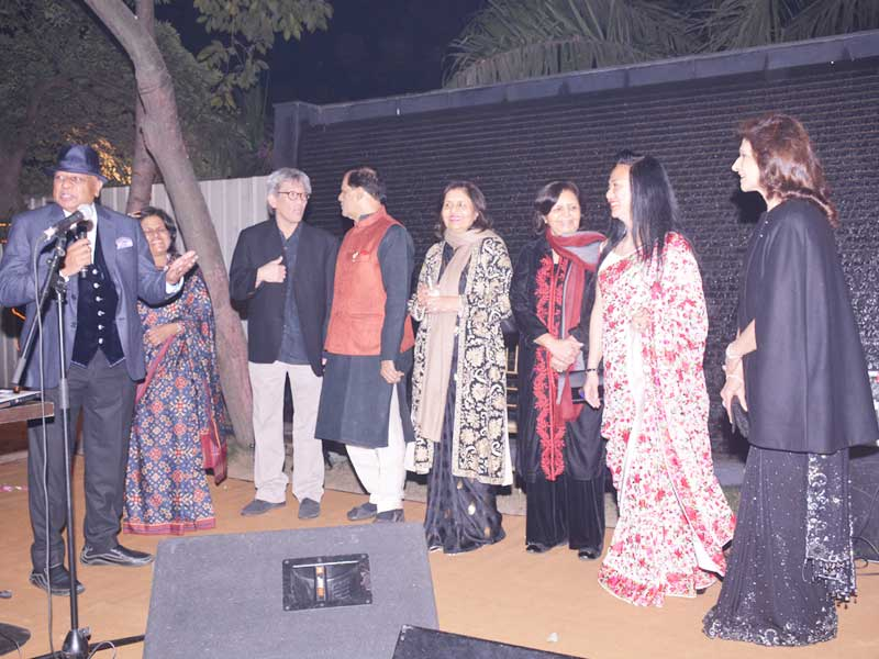 Mr B.K. Modi, Rekha Mody, Singapore High Commissioner along with other family members